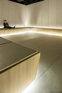 Alesound-absorbing-insulation-leather-tiles-–-Lapèlle-designx-Cochrane-Architects-Silence-Room-06_R