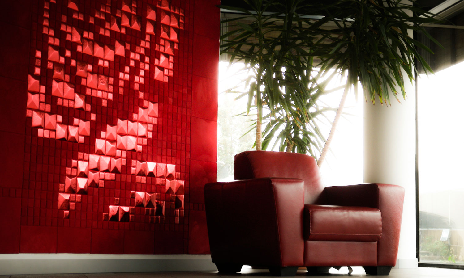 lapelle design leather tiles a new pyramid one shape thousands leather wall tiles rose mosaic lapelle design