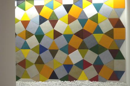 Composizione multicolor
