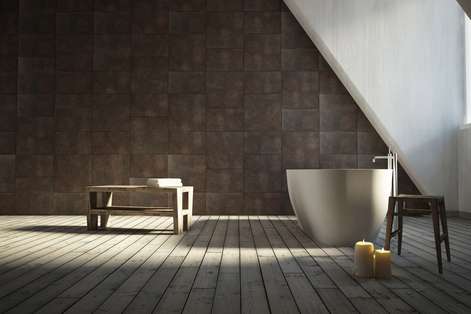 Luna Your Bathroom Wears Natural Leather